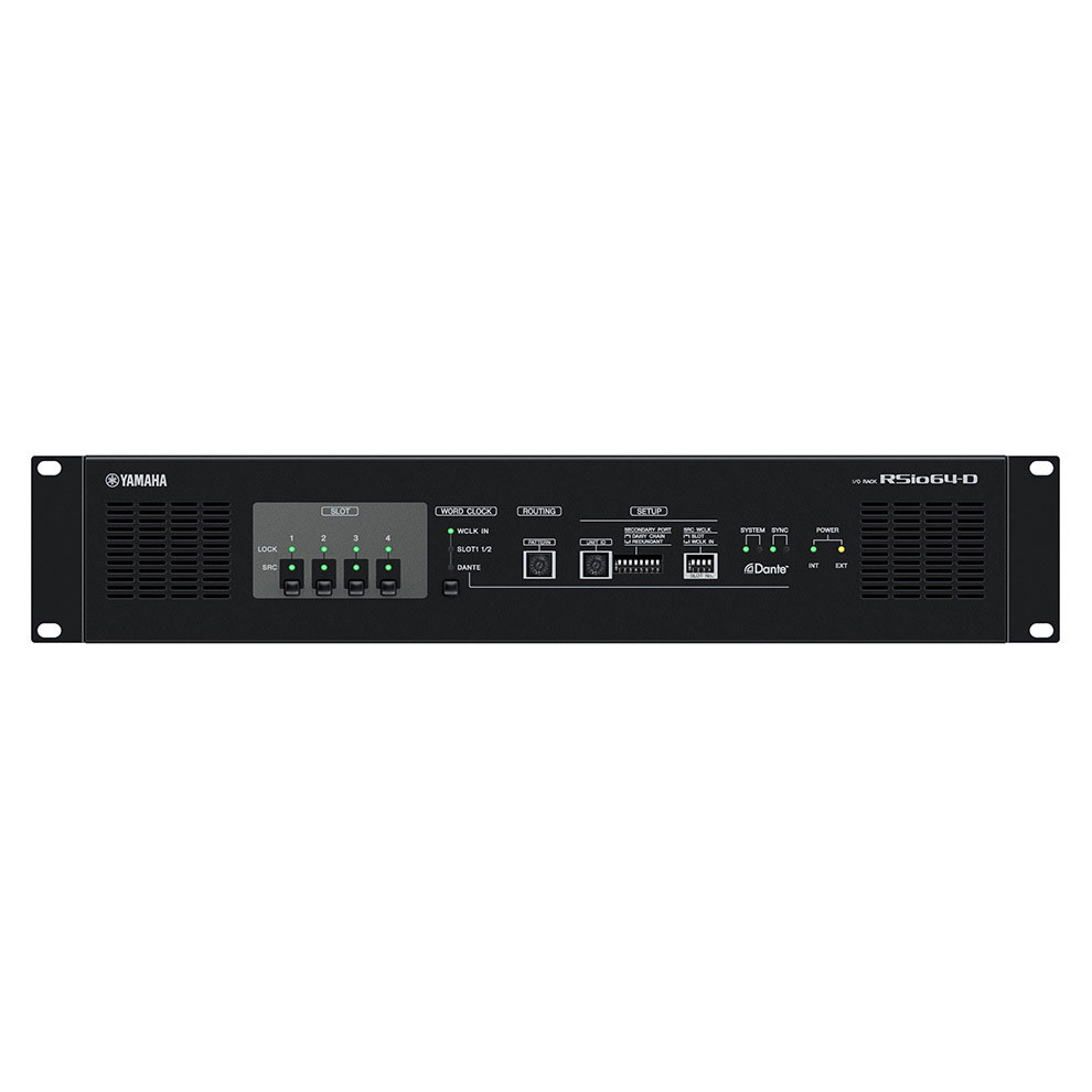 Yamaha rsio64 d pro music s r o for Yamaha commercial audio