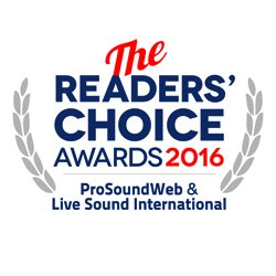 ProSoundWeb Readers' Choice 2016