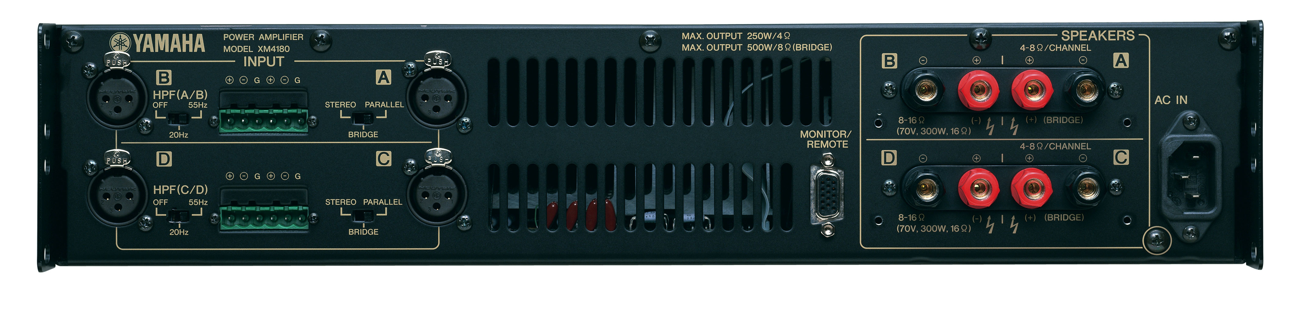 Yamaha xm s rie pro music s r o for Yamaha commercial audio